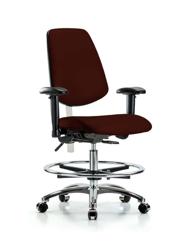 FisherbrandClass 100 Vinyl CR Chair - Med Bench Height with Med Back, Seat