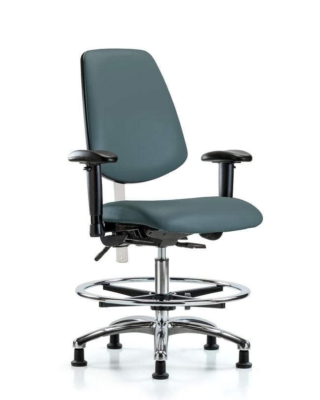 FisherbrandClass 100 Vinyl CR Chair - Med Bench Height with Med Back, Tilt,