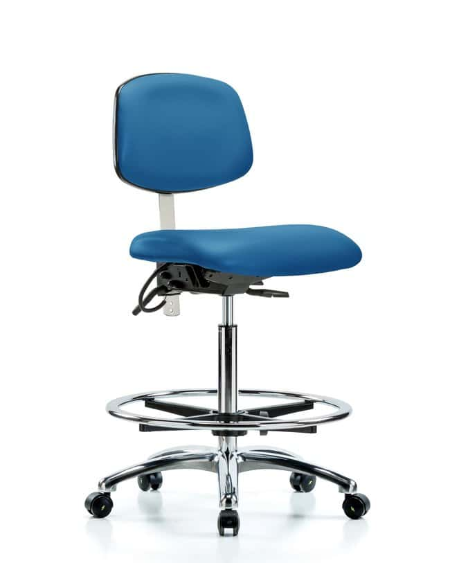 Fisherbrand Class 100 Vinyl Clean Room/ESD Chair - High Bench Height with