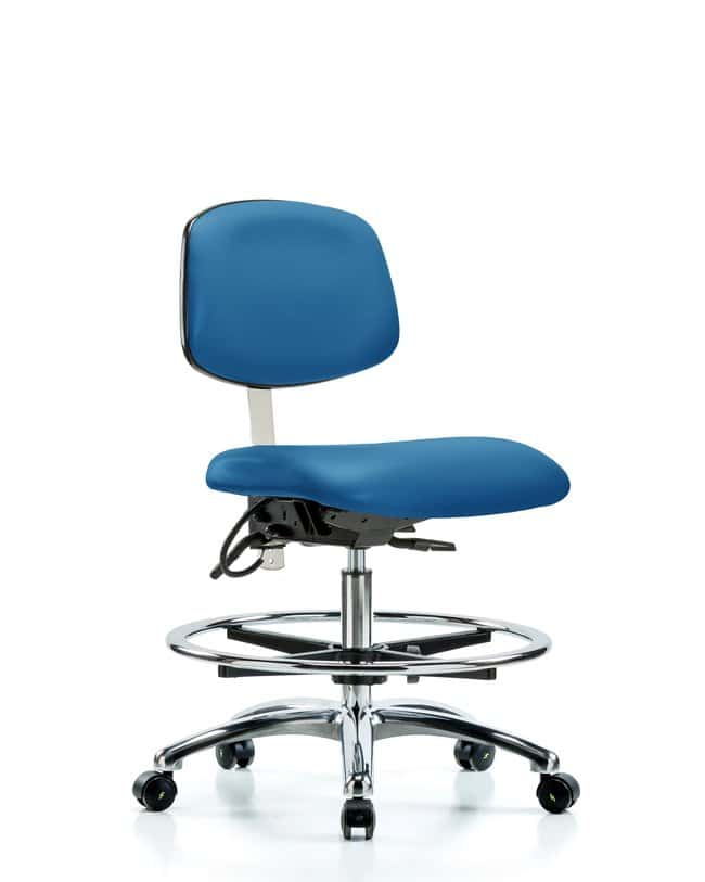 Fisherbrand Class 100 Vinyl Clean Room/ESD Chair - Medium Bench Height