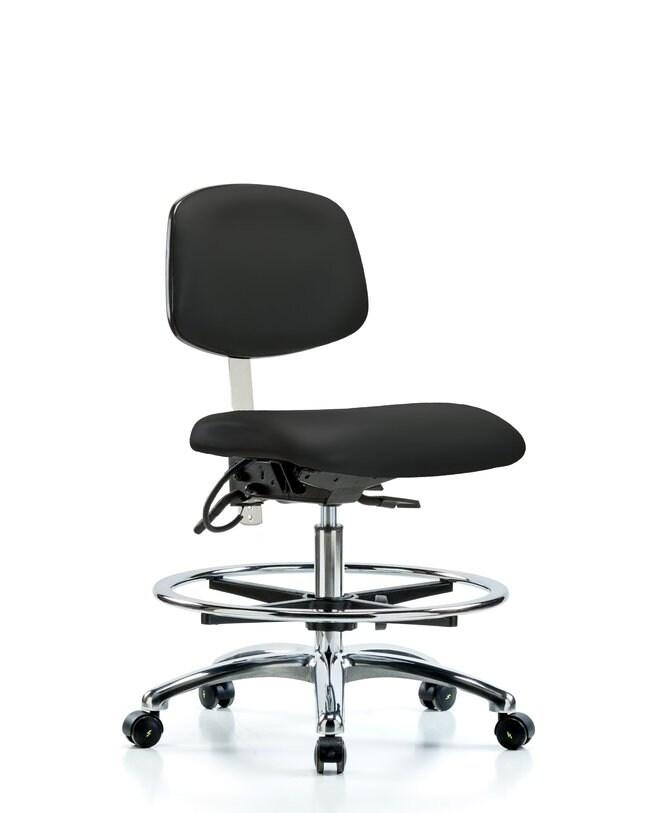 Fisherbrand Class 100 Vinyl Clean Room/ESD Chair - Medium Bench Height