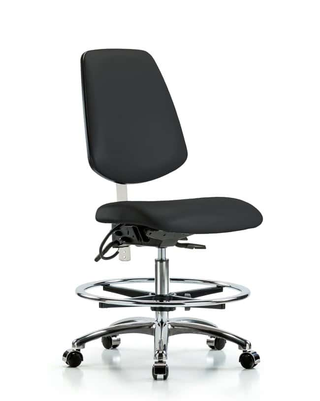 FisherbrandClass 100 Vinyl Clean Room/ESD Chair - Medium Bench Height with