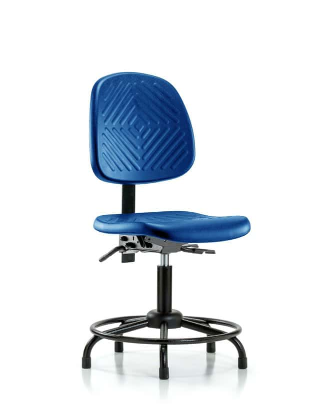 FisherbrandPolyurethane Chair with Round Tube Base - Desk Height with Medium