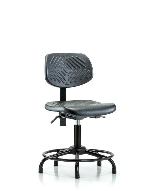 FisherbrandPolyurethane Chair Round Tube Base - Desk Height with Stationary