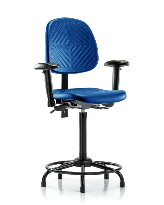 FisherbrandPolyurethane Chair with Round Tube Base - High Bench Height