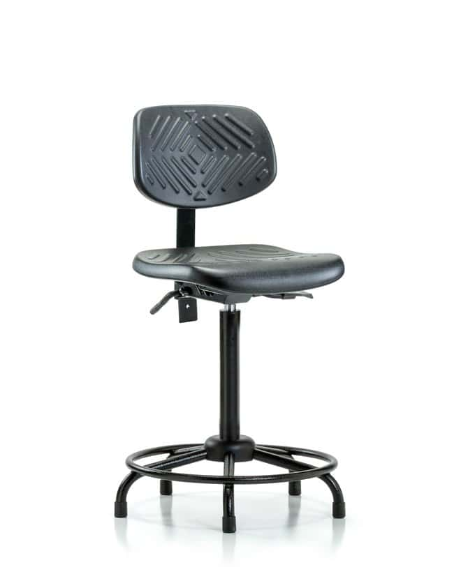 FisherbrandPolyurethane Chair Round Tube Base - High Bench Height with