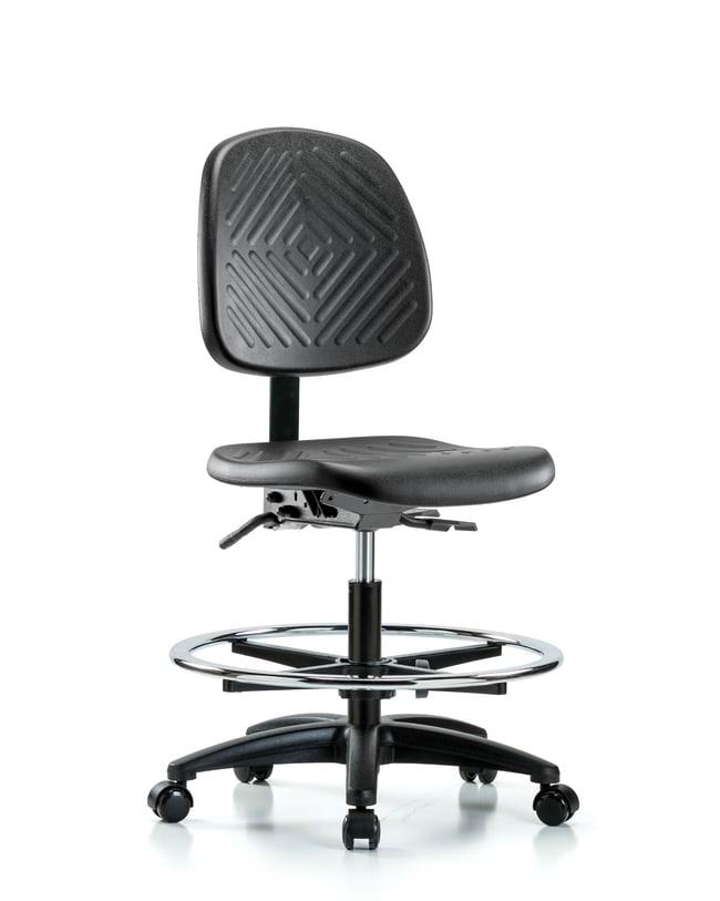 Fisherbrand Polyurethane Chair - Medium Bench Height with Medium Back,