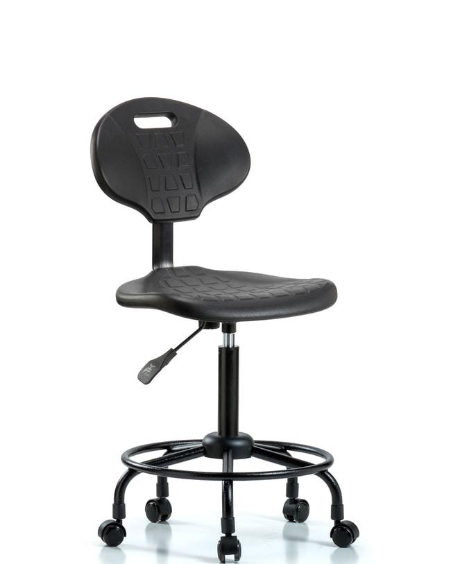 FisherbrandPolyurethane Chair Round Tube Base - Medium Bench Height with