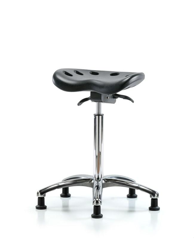 FisherbrandPolyurethane Tractor Sit-Stand Chrome in Polyurethane:Furniture:Seating