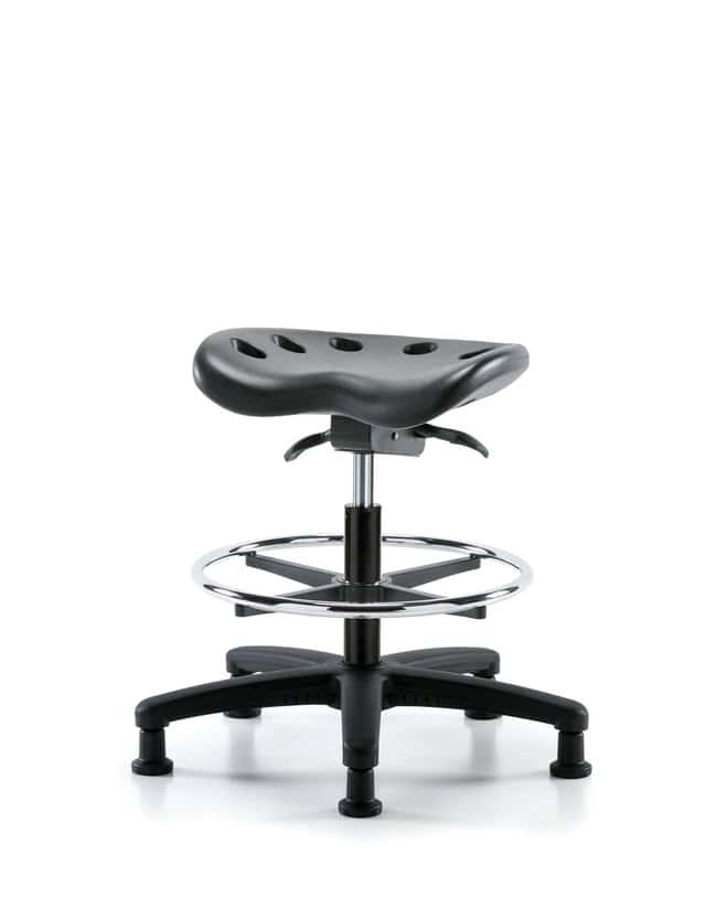 FisherbrandPolyurethane Tractor Sit-Stand Stool - Medium Bench Height with