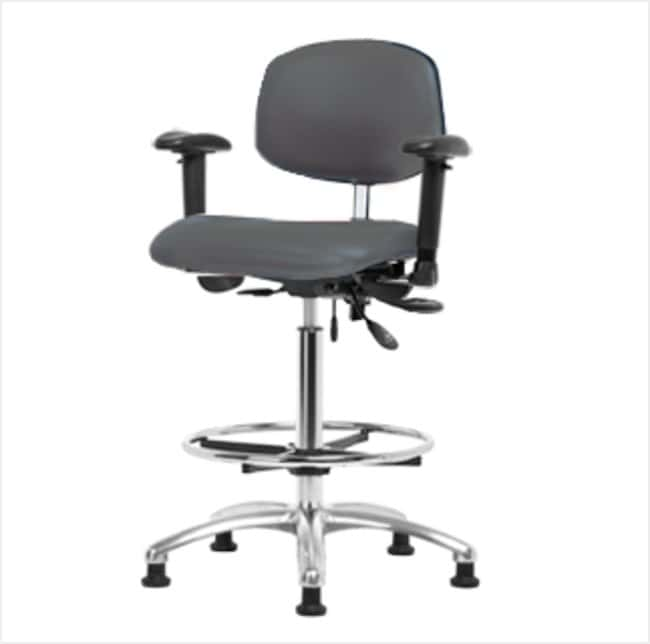 FisherbrandClass 100 Vinyl Clean Room Chair - High Bench Height with Adj