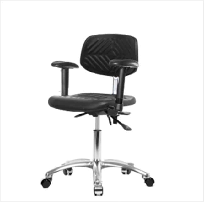 FisherbrandClass 100 Polyurethane Clean Room Chair - Desk Height with Adjustable