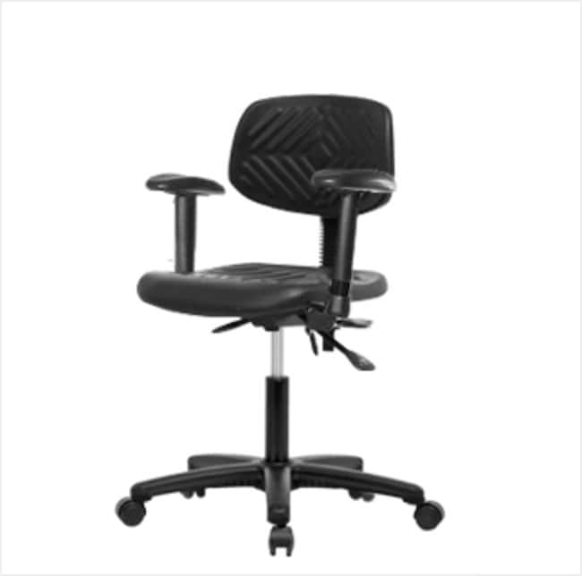 FisherbrandPolyurethane Chair - Desk Height with Adjustable Arms and Casters