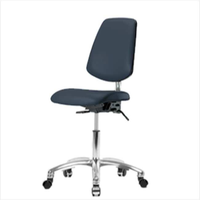 Fisherbrand Desk Height Class 100 Clean Room Chair with Medium Back :Gloves,