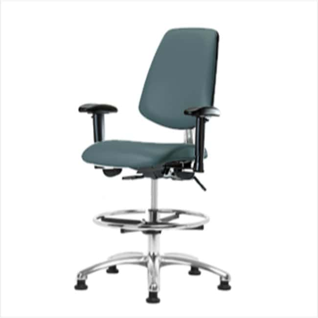 Fisherbrand Medium Bench Height Class 100 Clean Room Chair with Chrome
