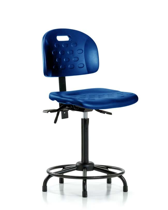 Fisherbrand High Bench Height Industrial Blue Polyurethane Round-Tube Base