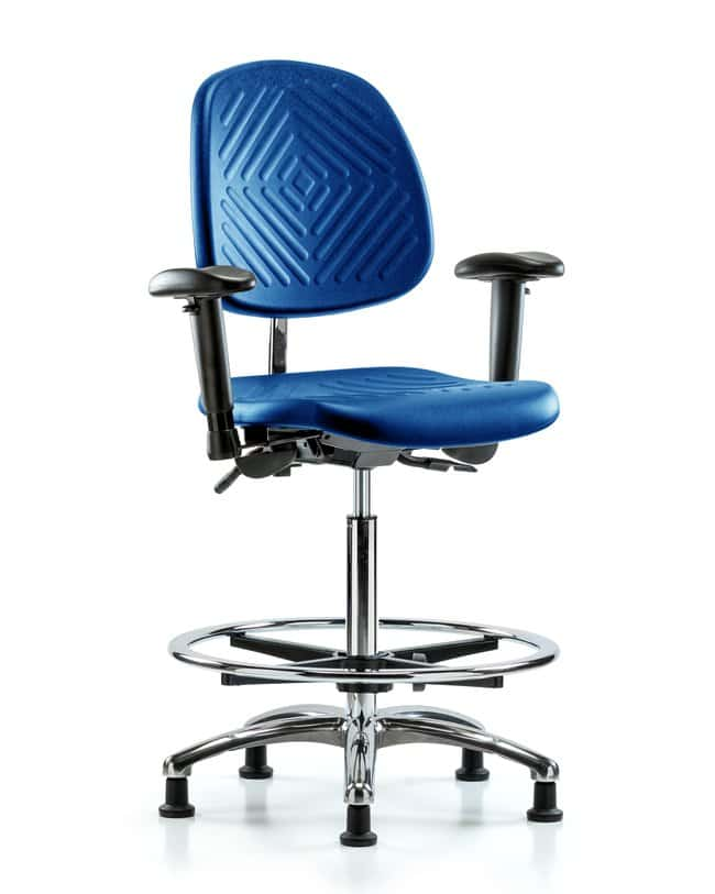 FisherbrandClass 100 Poly Clean Room Chair - High Bench Height with Medium