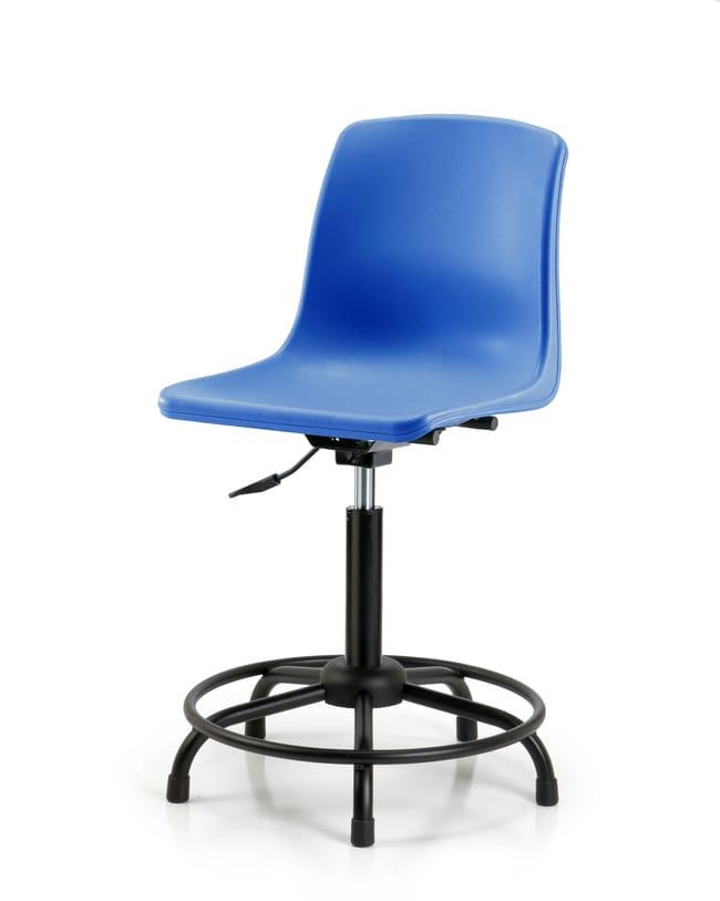 FisherbrandPolypropylene Shell Chair - Medium Bench Height with Round Tube