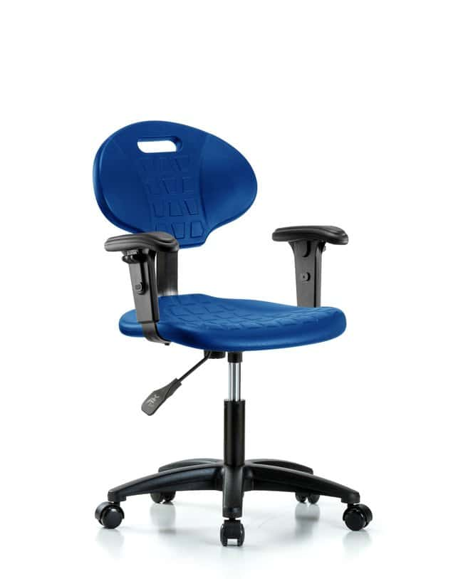 FisherbrandErie Polyurethane Chair - Desk Height with Adjustable Arms and