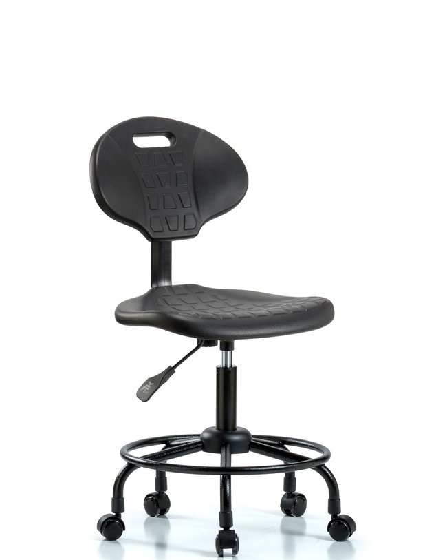 FisherbrandErie Polyurethane Chair - Desk Height with Round Tube Base and