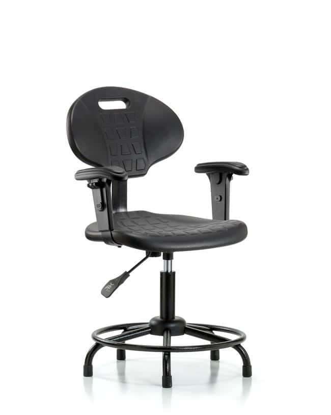 FisherbrandErie Polyurethane Chair - Desk Height with Adjustable Arms,