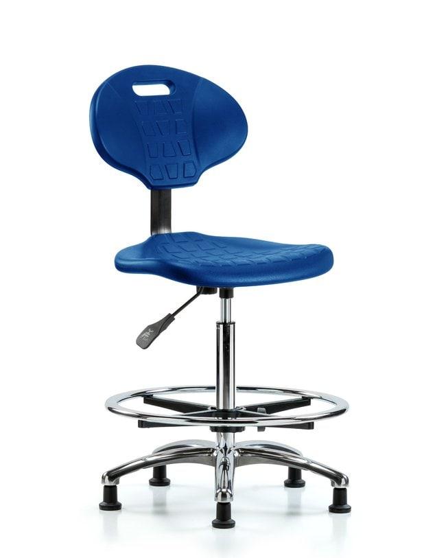 FisherbrandErie Polyurethane Chair Chrome - High Bench Height with Chrome