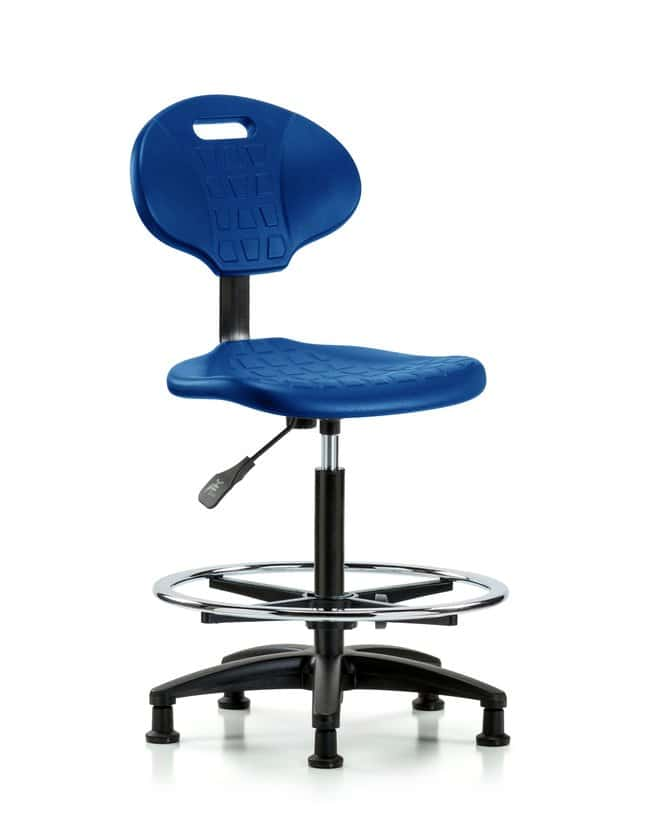 FisherbrandErie Polyurethane Chair - High Bench Height with Chrome Foot