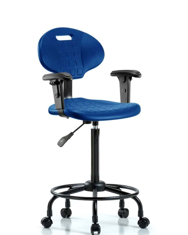 FisherbrandErie Polyurethane Chair - High Bench Height with Adjustable