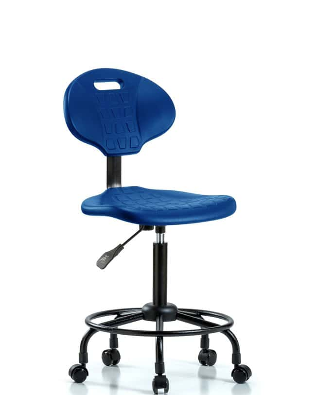 FisherbrandErie Polyurethane Chair - Medium Bench Height with Round Tube