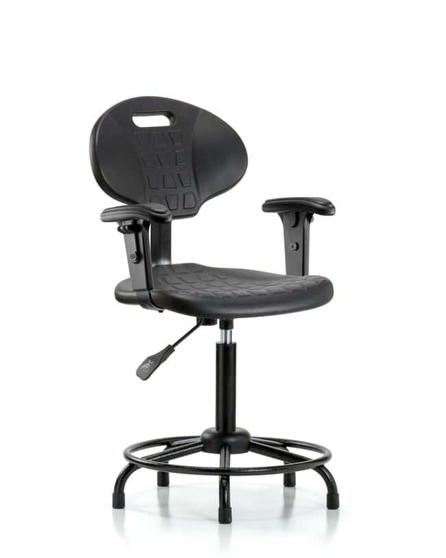 FisherbrandErie Polyurethane Chair - Medium Bench Height with Adjustable