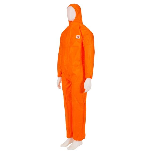 3M™Combinaisons de protection oranges en tissu à baseSMS de catégorieIII Taille: Très grand format 3M™Combinaisons de protection oranges en tissu à baseSMS de catégorieIII