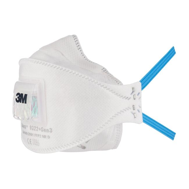3M™3M™ Partikelmaske Aura™ 9300+Gen3: Atemgeräte mit Luftreinigung Atemschutz