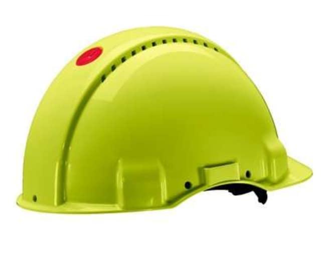 3M™Series G3000 Ventilated Slim Design Hard Hat with Leather Sweatband Color: Hi-Viz products