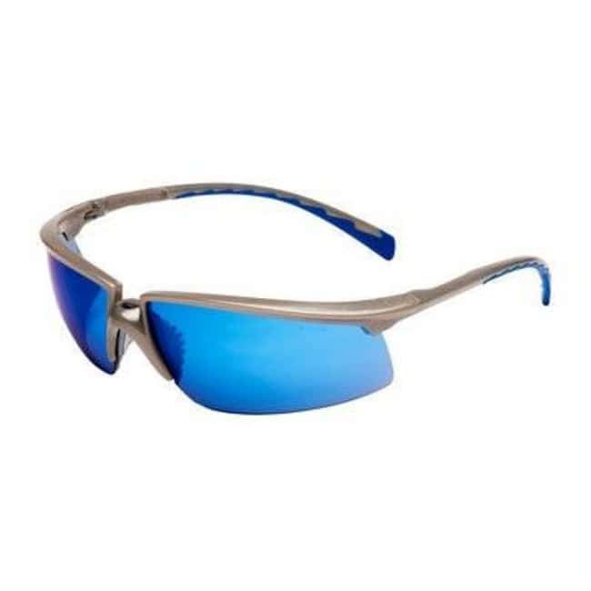 3M™Solus™ Safety Glasses Lens Tint: Blue Mirror; Lens Type: Scratch-resistant 3M™Solus™ Safety Glasses