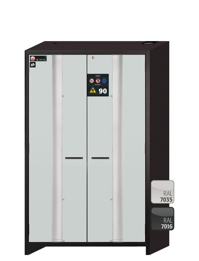 asecos™Q-PHOENIX-90 Yellow Safety Storage Cabinets: Safety Cabinets Fume Hoods and Safety Cabinets