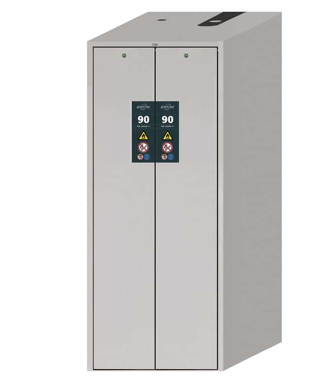 Asecos™V-MOVE-90 Safety Storage Cabinets 2x light gray doors; 5x 50 kg shelves Asecos™V-MOVE-90 Safety Storage Cabinets