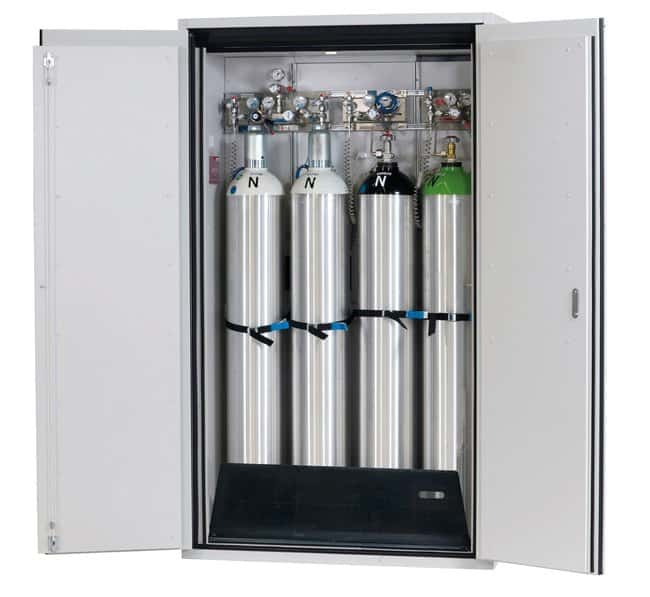 asecos™ Type 90 Gas Cylinder Cabinet G-ULTIMATE-90 Capacity: Up to 4 x 50-litre gas cylinders or 7 x 10-litre gas cylinders, Description: Comfort interior equipment gas cylinders asecos™ Type 90 Gas Cylinder Cabinet G-ULTIMATE-90