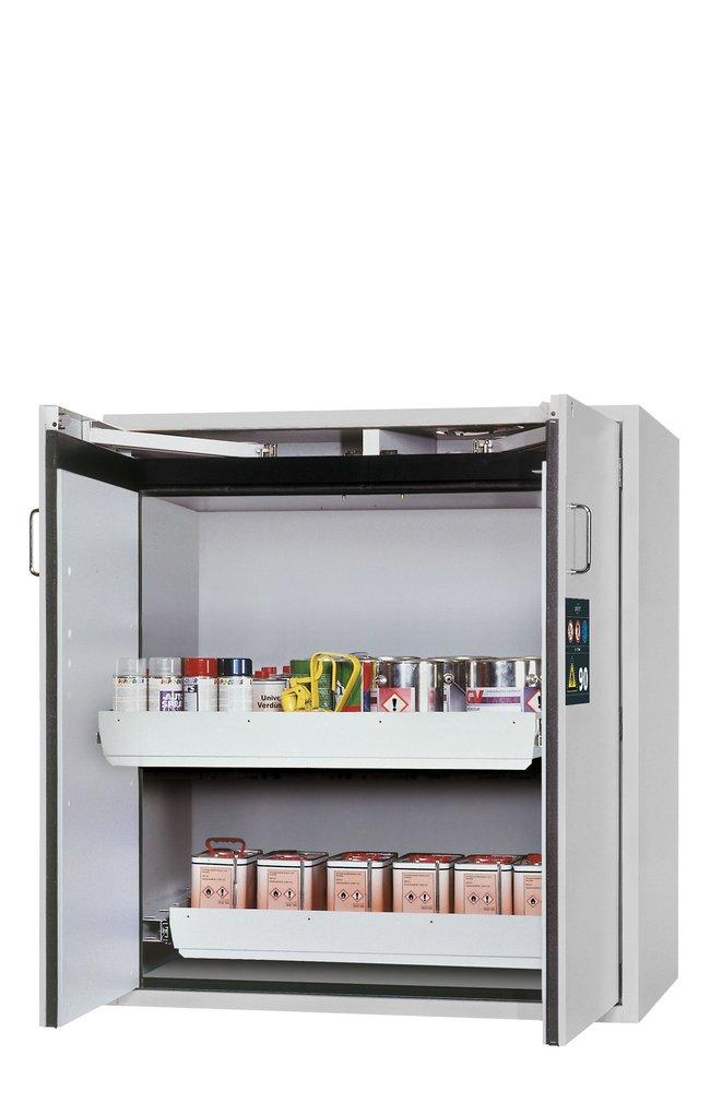 asecos™type 90 armoire de sécurité S-CLASSIC-90 2xtiroirs (tôle d'acier revêtue de poudre) asecos™type 90 armoire de sécurité S-CLASSIC-90