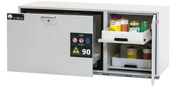 Asecos Type 90 Combi Safety Storage Cabinets K Ub 90 No Of Doors