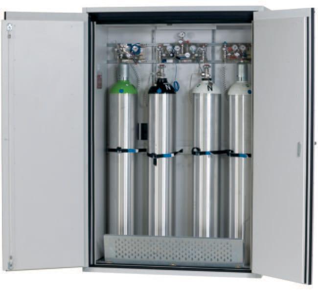 asecos™Armoire pour bouteilles de gaz de type90 G-ULTIMATE-90 Capacité: 4bouteilles de gaz de 50litres ou 8bouteilles de gaz de 10litres, description: Bouteilles de gaz pour équipement intérieur confort asecos™Armoire pour bouteilles de gaz de type90 G-ULTIMATE-90
