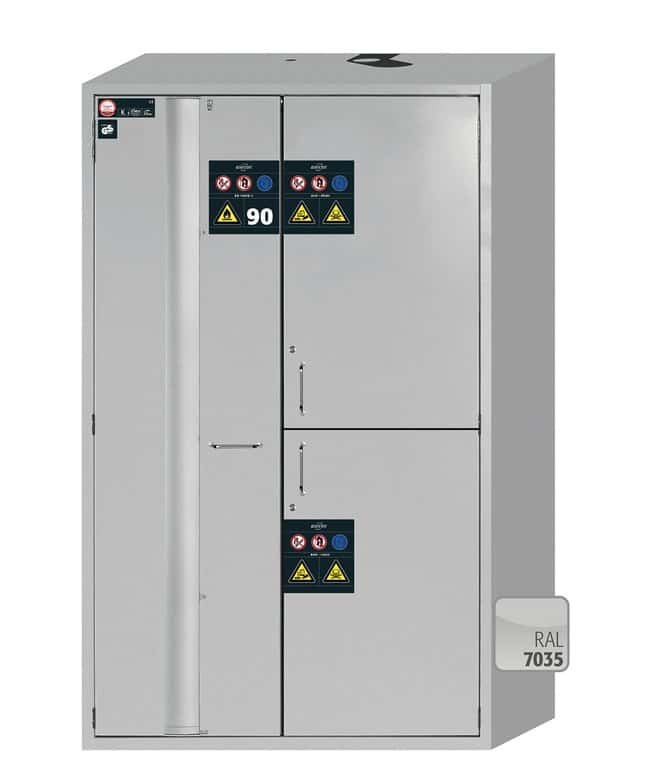 Asecos™ K-PHOENIX-90 Combination Safety Storage Cabinets with Door Open Arrest System 6x 25 kg/5 L drawers; 6x 25 kg/11 L shelves Asecos™ K-PHOENIX-90 Combination Safety Storage Cabinets with Door Open Arrest System