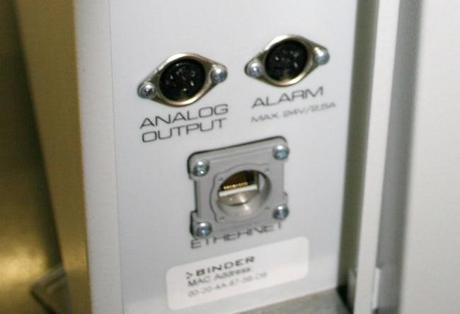 Binder™Temperatur- und CO-2-Analogausgang für 4 bis 20mA Zur Verwendung mit C150, C170 Binder™Temperatur- und CO-2-Analogausgang für 4 bis 20mA