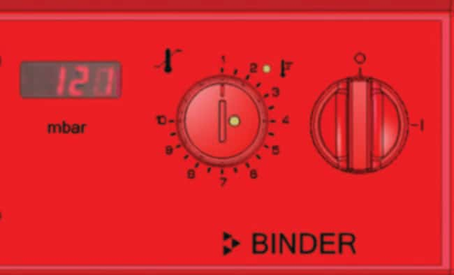BINDER™Digital Pressure Display For Use With: VD 53 Incubator Accessories