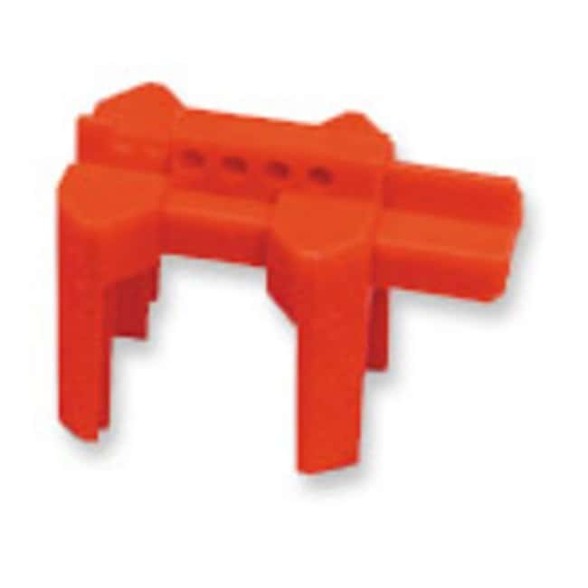 Brady™ Polypropylene Prinzing Ball Valve Lockout Red; Width: 305mm Brady™ Polypropylene Prinzing Ball Valve Lockout