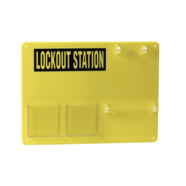 Brady™Lockout-Tafel Dimensions: 393W x 292mmH Brady™Lockout-Tafel
