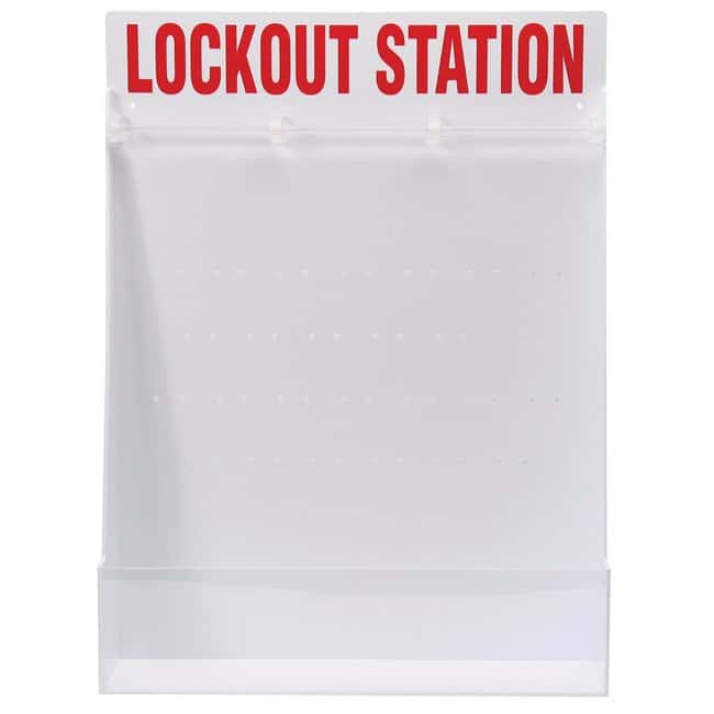 Brady™ Lockout Station Dimensions: 495W x 660mmH Brady™ Lockout Station