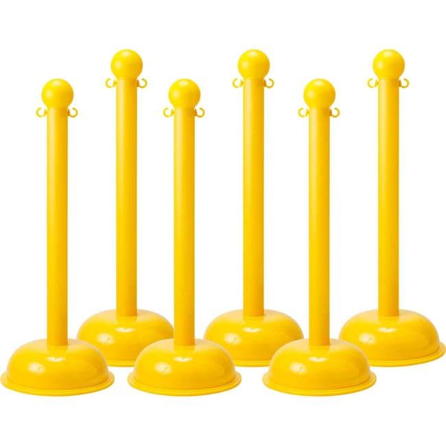 Brady™Bradylink™ Warning Post & Chain Color: Yellow Brady™Bradylink™ Warning Post & Chain