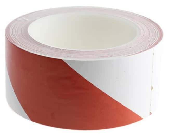 Brady™Red and White Warning Tapes Dimensions (L x W): 33m x 50mm Brady™Red and White Warning Tapes