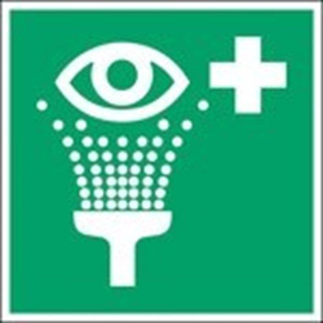 Brady™Polypropylene: ISO Safety Sign - Eyewash station W x H: 315 x 315 mm Brady™Polypropylene: ISO Safety Sign - Eyewash station