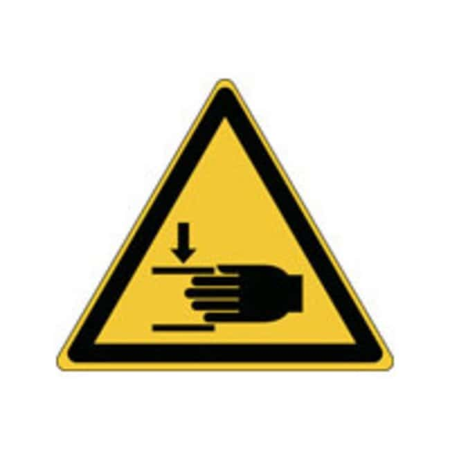 Brady™ ISO 7010 Sign - Warning, Crushing of hands W x H: 100 x 87 mm Brady™ ISO 7010 Sign - Warning, Crushing of hands